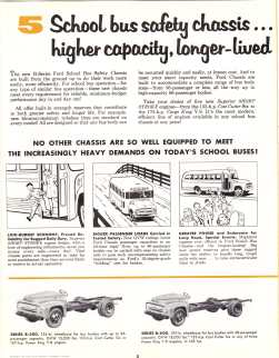 1956 Ford Bus Brochure, Page 2