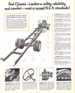 1956 Ford School Bus Chassis brochure pg. 5