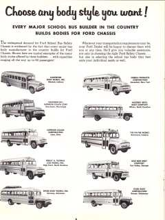 1956 Ford Bus Brochure, Pg. 6