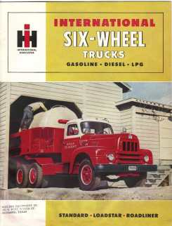 International 6-wheel trucks page 1.