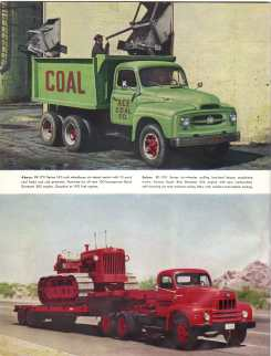 IHC 6-wheel trucks brochure, page 2