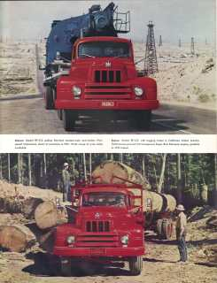 IHC 6-wheel trucks brochure, page 5.